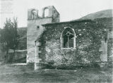 Joan of Arc Chapel attached to a chateau in Chasse, France, circa 1920