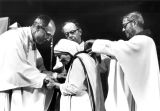 Mother Teresa receives the Pere Marquette Discovery Award, 1981