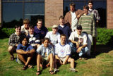 A group of male students from the Freshman Frontier Program, 1995