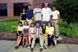A group of students in the Freshman Frontier Program, 1997