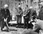 Legal Research Center groundbreaking ceremony, 1967