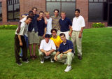 A group of male students from the Freshman Frontier Program, 1997