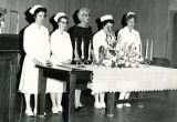 Dental hygiene capping ceremony, circa 1955