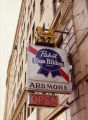 Sign for the Ardmore Bar, 1979-1980