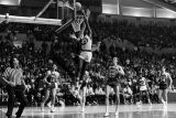 Bob Lackey goes up for a layup against Kentucky, March 1971 or 1972