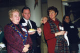 Sandy Pavlic, Dave Krill, Bonnie Krill and others gather for a Women's Council event, 2000
