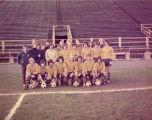 Men's soccer team, 1972