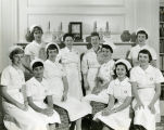 First group of nursing students to participate in an affiliation with the Milwaukee Sanitarium...
