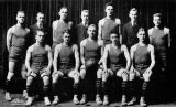Men's basketball team, 1917