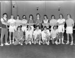 Men's tennis team, 1974-1975