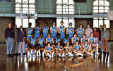 Men's basketball team, 1972-1973