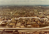 Aerial view of the Marquette campus, as seen from the south, 1973