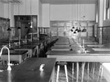 Chemistry lab in Saint Joseph's Hall, circa 1936