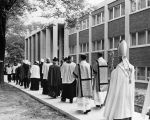Blessing of the Marquette College of Nursing, 1963