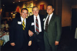 Toby Peters, Hank Raymonds, and Greg Kliebahn at a Blue and Gold Fund event