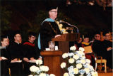 Rev. John P. Raynor, S.J. at 1981 commencement