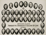 Senior Class, Marquette University College of Law, 1921