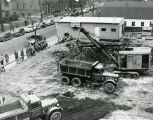 Marchese Bros., Inc. excavates the site of the College of Business Administration Building, 1951