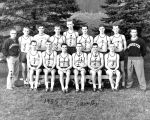 Marquette men's cross country team, 1955