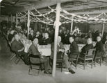 Banquet at initiation of the Knights of St. Peter Claver, St. Rita Church, Indiana, Indianapolis,...