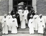 Immaculate Conception High School Graduates, Charleston, South Carolina, 1936