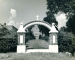 Main Entrance, St. Augustine Seminary, Bay St. Louis, Mississippi, Undated