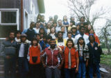 Class Retreat Group Portrait, St. Joseph's Indian School, Chamberlain, South Dakota, 1982