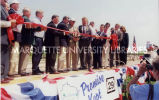 Highway 29 ribbon-cutting; August 16, 2000