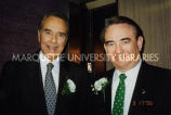 Governor Thompson and Bob Dole; March 17, 1996