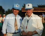 Govenor Thompson and Lee Dreyfus; July 1988
