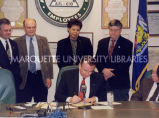 Pension Bill signing; December 16, 1999