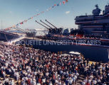 Battleship Wisconsin recommissioning, October 22, 1988
