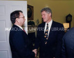 Thompson with President Clinton; November 16, 1993