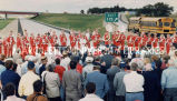 Highway 151 ribbon cutting; September 16, 1991