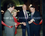 North Wing dedication; November 30, 1992