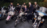 German Harley riders; March 2000
