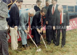 Biewer groundbreaking; September 18, 1988.