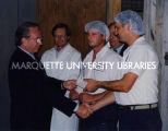 Rondele Foods check presentation; August 25, 1998