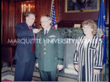 Nevin pinning ceremony; March 2000