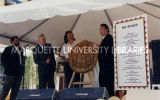 Sesquicentennial woodcarving presentation; May 29, 1998