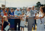 Prescott Center ribbon-cutting; July 31, 1996