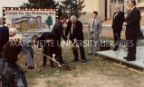 Weidner Center groundbreaking; April 4, 1991