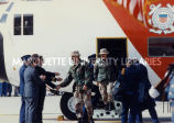 Coast Guard Reservists return; March 15, 1991
