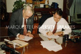 Tornado relief signing; September 9, 1992