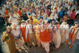 Governor and circus clowns; July 1987