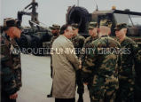Visiting troops; December 2, 1998