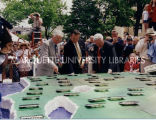 Statehood Day cake-cutting; May 29, 1998