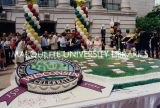Sesquicentennial birthday cake; May 29, 1998