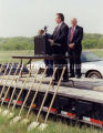 East Bridge Corridor groundbreaking; May 11, 1999
