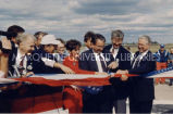 Highway 151 ribbon-cutting; June 11, 1992